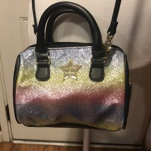 Betsey Johnson rainbow purse